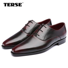 TERSE_China manufacturer handmade genuine leather oxfords men shoes luxury dress shoes high quality footwear factory price