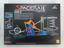 Toy Roller Coaster 2G, Space rail 232-3, DIY Toys, Model Building Kits, Toy Kit(China)