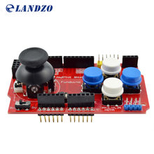 LANDZO 1PCS/LOT JoyStick Keypad Shield PS2 for Arduino nRF24L01 Nk 5110 LCD I2C