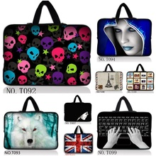 Universal 7 10.1 12 13.3 14 15.6 17.3 inch Portable Laptop Bag Carry Sleeve Netbook Cover Pouch Computer Accessories T#019