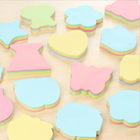 Various Creative Colored Paper Post-it Memo Pads Korean Cute Office School Schedule Supply Stationery Sticky Notes Index Notepad
