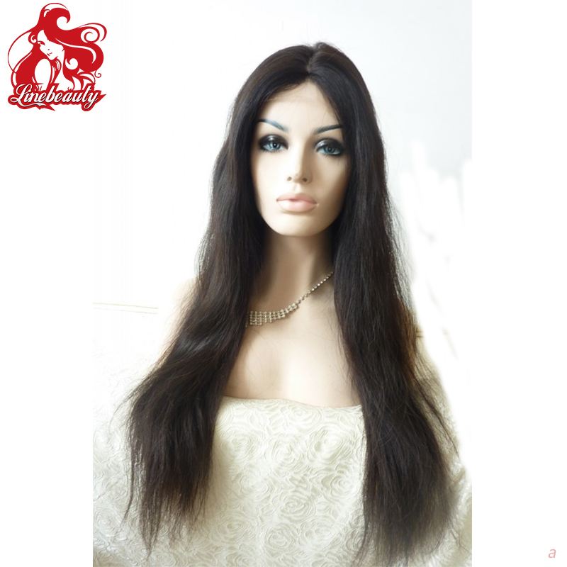 Yaki synthetic lace front wigs italian yaki kinky straight synthetic lace front wig for black wowen cheap front lace wigs<br><br>Aliexpress