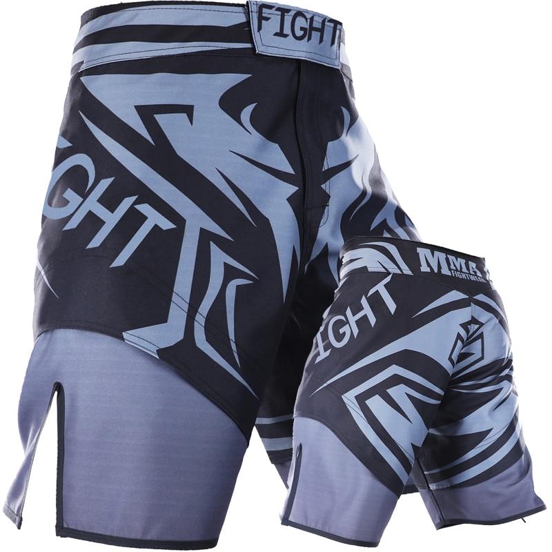 2018 New Mma Shorts Boxing Trunks Muay Thai Tiger Muay Thai Kickboxing Shorts Sanda Yokkao Brock Lesnar Fight Boxing Short Sanda<br>