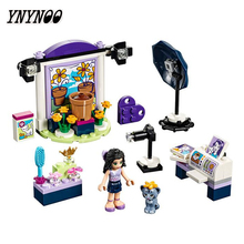 YNYNOO Bela 10601 Friends Series Emma's Photo Studio Building Block Bricks Toys Gift For Children 41305(China)