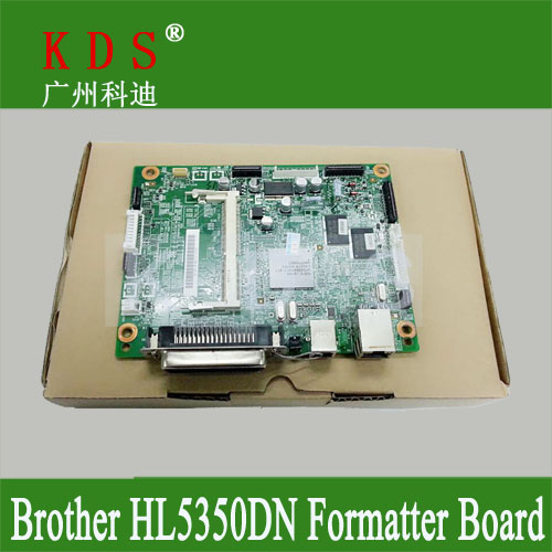 Original Formatter board for Brother HL-5350DN main board logic board PBA-MAIN for LV0344001 remove from new machine<br><br>Aliexpress