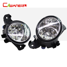 Cawanerl 2 x Car Styling Left + Right Fog Light LED Light For Nissan Maxima X-Trail Elgrand Almera Teana Wingroad March Pathfind