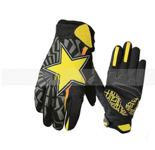2017 Fashion Rockstar Motocross gloves Cycling Riding Bike Sports Mountain Bicycle Racing Motorcycle Full Finger Gloves M/L/XL