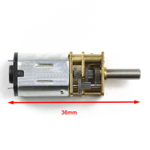 1pc N20 30/600/1000/1200RPM DC 3/6/12V Micro Deceleration Gear Reducer Motor Small Durable DC Geared Replacement Motors Mayitr(China)