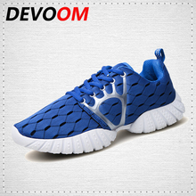 DEVOOM Young Mens Breathable Casual Shoes Men Comfortable Walking Shoes Student/ Adults Lightweight Outdoor Travel Shoes homme