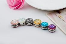 12pcs High Quality Unique 15*2.0mm Strong Magnetic Brooch Strong Magnet Pin Muslim Hijab Scarf Pin Brooch Factory Direct
