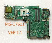 MS-17611 For MSI GT780DXR Laptop Motherboard MS-17611 VER:1.1 Mainboard 100%tested fully work