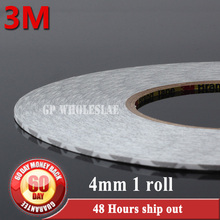 1x 4mm*50 meters 3M 9080 Double Sided Sticky Tape Adhesive for LED Strip Sticky, LED Display, Nameplate, Common Using #897