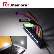 Portable Flexible Led Lamp For Notebook Laptop Tablet PC Power Bank Computer USB LED Lamp Night Light
