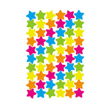 1pcs Small star colour geometric figure Mini Paper Decoration DIY Diary Scrapbooking Student supplies stationery sticker(China)