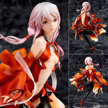New 18cm PVC anime sex doll Anime Guilty Crown Inori Yuzuriha Model 1/8 Scale Painted adult action Figure sex toy