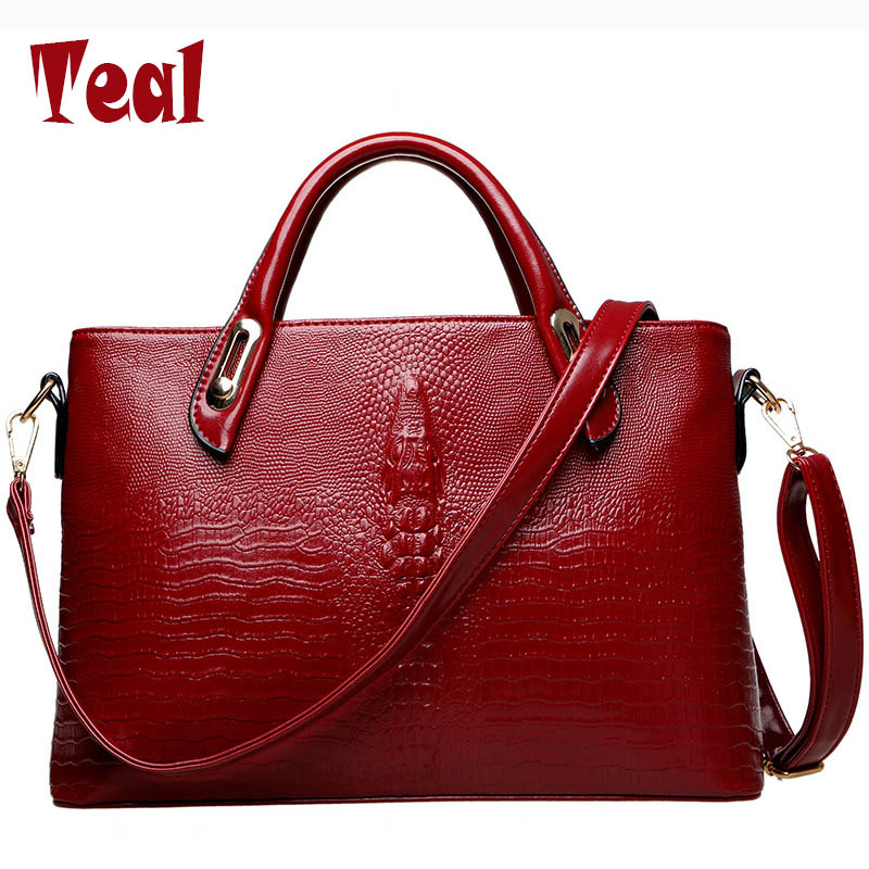 women bags handbags women famous brands Crocodile handbag crossbody womens handbags shoulder bag lady bolsas feminina 2017 new<br><br>Aliexpress