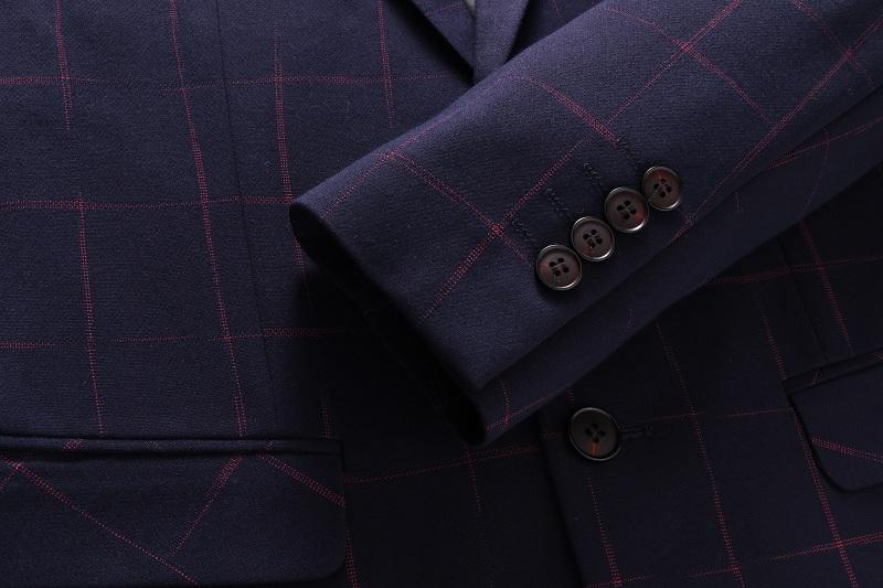 HTB1rz0ISpXXXXbHXXXXq6xXFXXXC - TIAN QIONG Brand Plaid Suit Men 2017 Slim Fit Mens Formal Wear Male Business Suits High Quality 3 Piece Groom Wedding Suit S/3XL