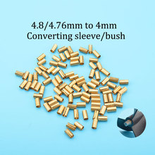 5ps Rc Boat Copper 4.8mm/4.76mm to 4mm Converting sleeve/bush for Diameter 4.8/4.76mm prop(screw) 4mm Shaft Housing