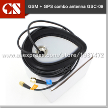 Free shipping Amplified Remote GPS GSM combo Antenna,M type(China)