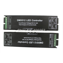 4channels LED RGBW Controller DMX512 LED Decoder & Driver 12V DMX Controller(China)