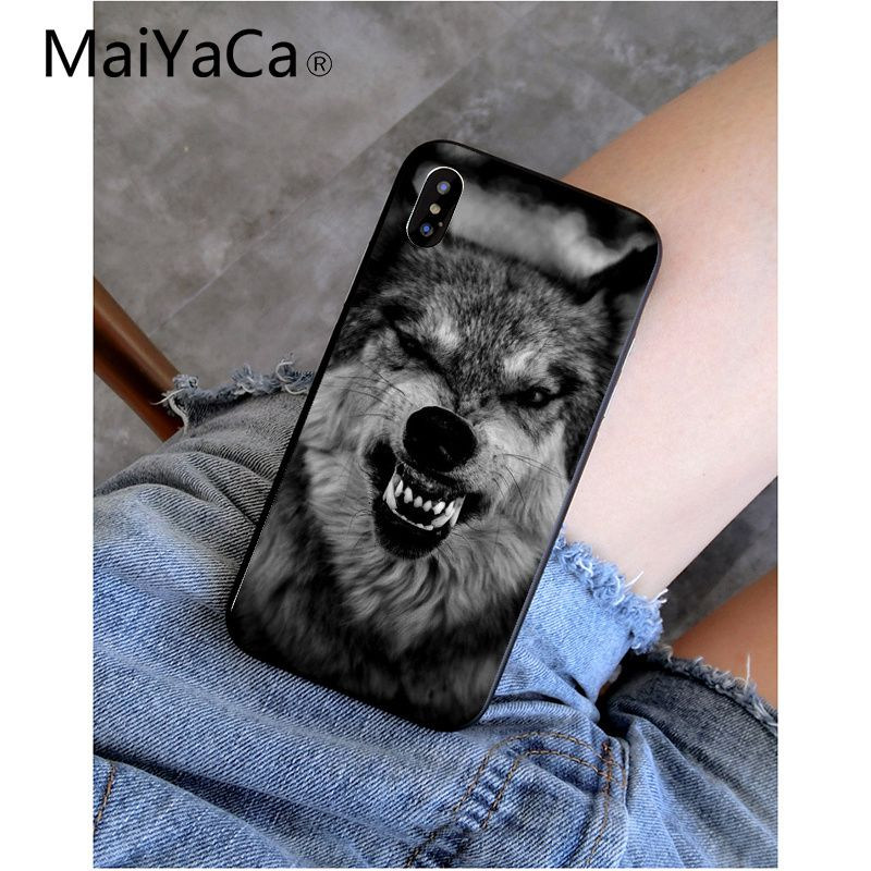 Cool Wolf Hipster