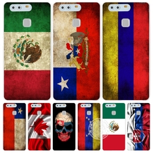 slovak mexico canada chile colombia flag Cover phone Case for huawei Ascend P7 P8 P9 P10 lite plus G8 G7 honor 5C 2017 mate 8