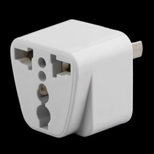 Hot 2 pin AC American USA Power Plug Adapter Travel Converter Australia UK USA EU Wholesale