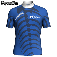 NEW Summer The blue & pink cycling jersey man bicycle clothing Short sleeve cycling Jerseys ropa ciclismo maillot