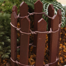 L 10cm H 5cm Mini Fences Furnishing Articles Meaty Plant Pots Decoration Moss Micro Landscape