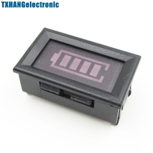 12V ACID Lead Batteries Indicator Battery Capacity LED Tester Digital Voltmeter(China)
