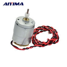 AIYIMA 24V 24 Volts Mabuchi RS 365 DC Motor 8000RPM Used For Hair Dryer Motors With Wire Gear Free