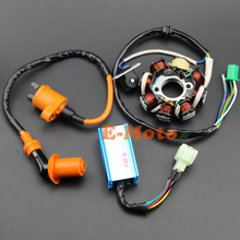 NEW GY6 150 8 Pole Magneto Stator Coil Performance CDI Box Ignition Coil 150cc Go Kart