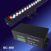 BC-809 CC 2014 hot selling DC12-48V 3 channels constant current DMX 512 power decoder, LED dmx controller 3 years warranty(China)