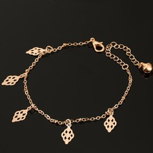 ns50   fashion gold color jewelry love heart charm bangles&bracelets glass beads strand bracelets for women 2016 fine jewelry
