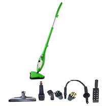 Handle Steam mop floor aspiradora with portable mini stick Steam cleaner with big water tank 1300w power water steam cleaner(China)