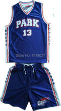 Royal Blue Home And  White Away Reversible Basketball Uniforms