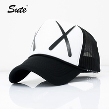 sute Casual Unisex Acrylic Adjustable Baseball Cap Summer Snapback Baseball Cap Men Fitted Hats XX Caps M-114(China)