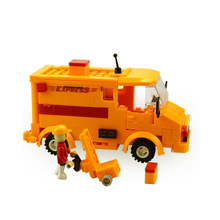 14107 City Bus Express Bus Building Blocks Boys&Girls Enlighten Educational DIY Blocks Bricks Toys For Children Compatible 0300(China)