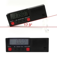 Electronic Digital LCD 360 Degree Inclinometer Angle gauge Protractor level Box Meter with Magnetic Base Automatic Power-of