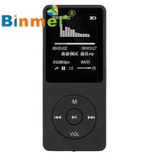 1.8'' TFT Black 8G MP3 HiFi Lossless Sound Music Player FM Recorder TF Card_KXL0612(China)