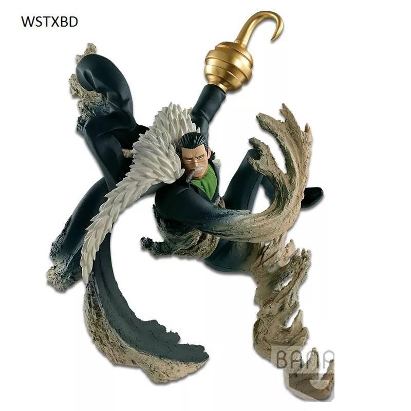 WSTXBD Original BANPRESTO One piece OP Abiliators Crocodile PVC Figure Toys Figurals Model Kids Dolls <br>