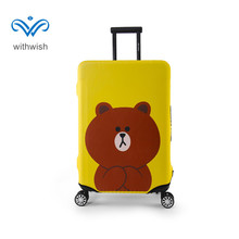 18-32inch Travel Luggage Suitcase Elastic Protective Cover Trolley Case Prevent Scratches Covers Korean style S/M/L/XL Plus Size