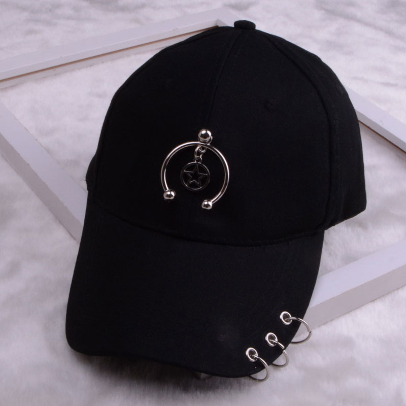baseball cap with ring dad hats for women men baseball cap women white black baseball cap men dad hat (33)