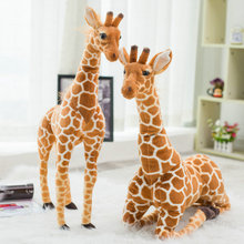 80/100cm Cute artificial toys deer plush toys stuffed plush Animals Giraffe doll