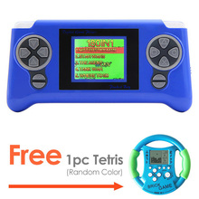 Free Shipping 1.8 Inch Retro Game Handheld New LCD Color Screen Built-in 106 Retro Games Console for Kids Educational Toy