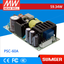 [Sumger2] MEAN WELL original PSC-60A 13.8V meanwell PSC-60 59.34W Single Output with Battery Charger(UPS Function) PCB type