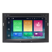 "Android 6.0 2G RAM 8 Core 1024*600 1080P 8"" Car DVD Player For Peugeot 3005 3008 5008 Partner Berlingo with Can Bus 3G 4G WiFi"