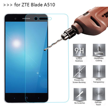 "2.5D 0.26mm 9H Premium Tempered Glass For ZTE Blade A510 5.0"" Screen Protector protective film For ZTE Blade A510 Glass"