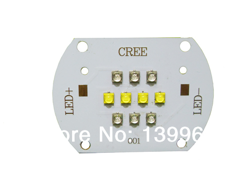 CREE XTE 50W White &amp; Royal Blue Hybrid Led on Copper PCB<br>