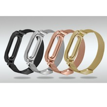 Buy Milanese loop Bracelet xiaomi mi band 2 strap stainless steel metal wrist band xiaomi mi band2 Replacement wristband for $11.20 in AliExpress store